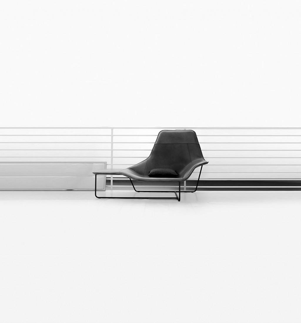 Zanotta Lama Chaise Longue 2006 - Palomba Serafini ociati on chaise recliner chair, chaise sofa sleeper, chaise furniture,